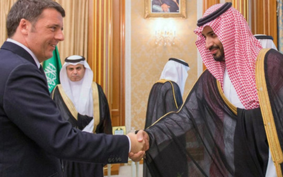 Matteo Renzi e Mohammed bin Salman