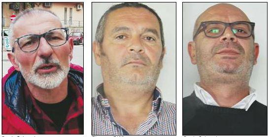 Franco Rufrano, Giuseppe D'Affuso e Orazio Colangelo