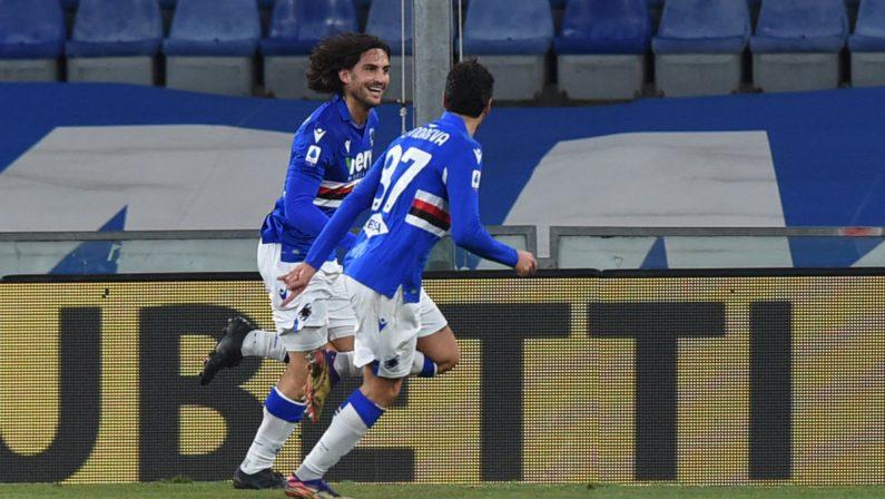 Samp-Udinese 2-1, Torregrossa decisivo al debutto