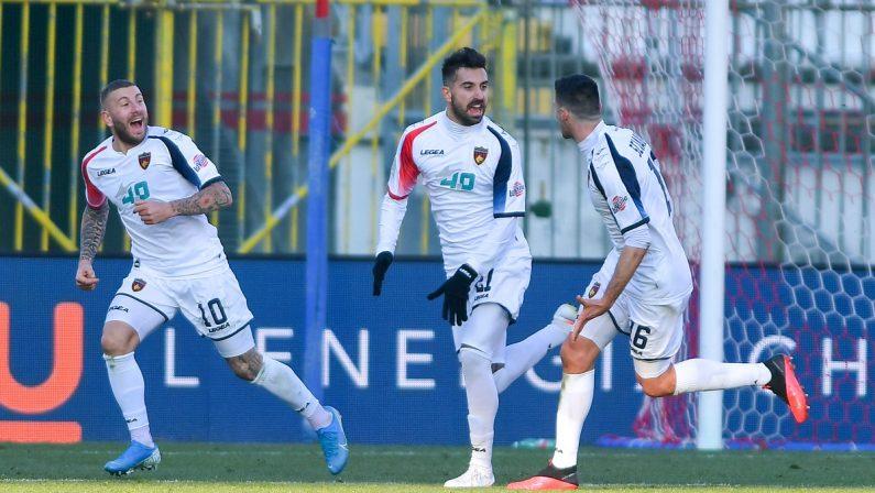 Serie B, punto d'oro per il Cosenza: a Monza finisce 2-2