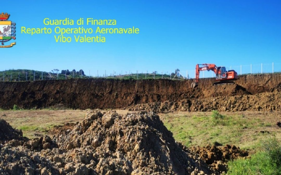 Villette abusive su un terreno agricolo, due persone denunciate a Crotone