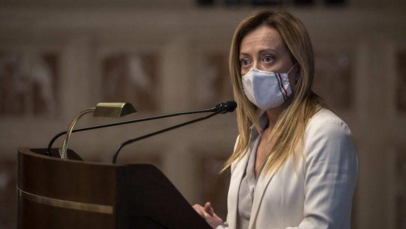 Verso le elezioni, Meloni insiste: «Occhiuto candidato migliore? Parliamone»