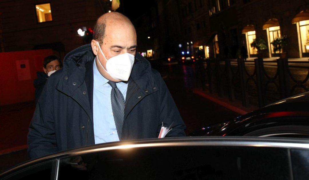 L'ex segretario del Pd Nicola Zingaretti