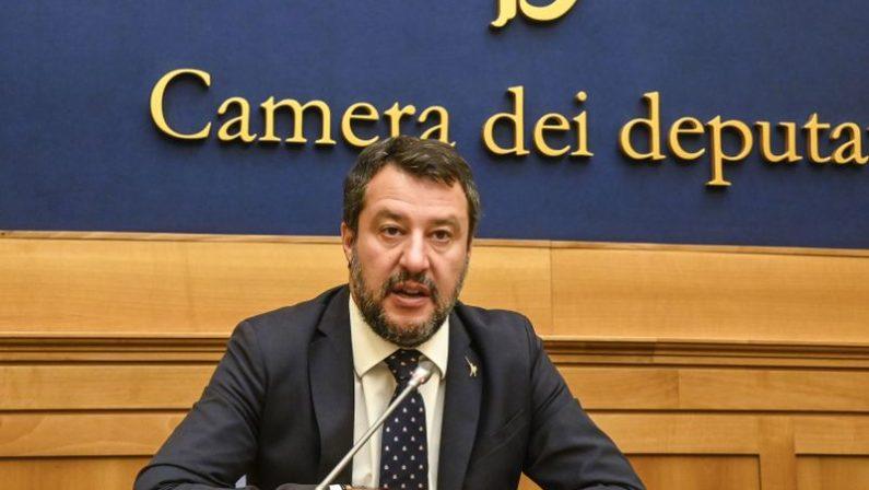 Salvini incontra Zingaretti: «Deporre ascia di guerra e risolvere i problemi»