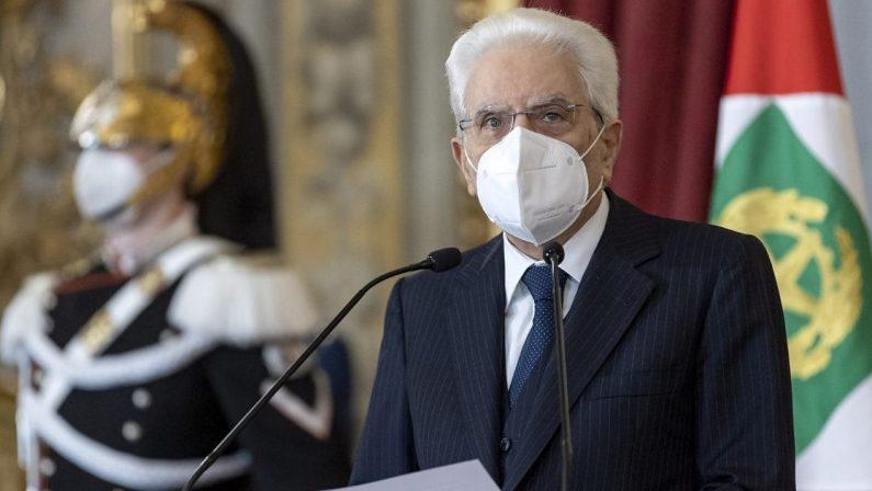 Mattarella: «L'Europa deve avere una politica estera e di difesa»