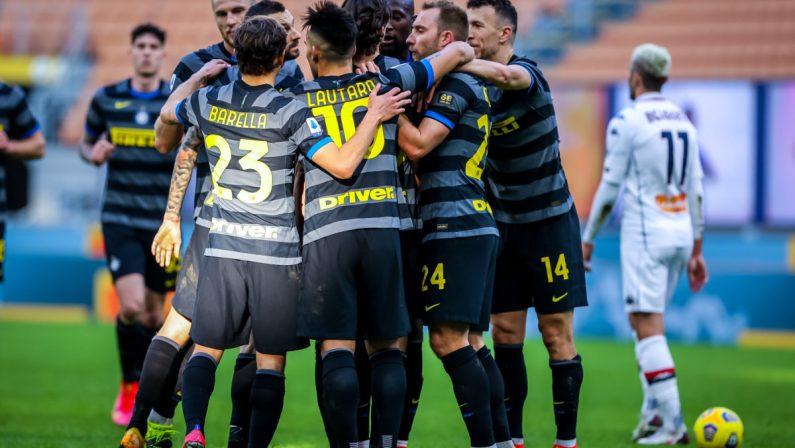 Lukaku, Darmian e Sanchez, Inter batte Genoa 3-0