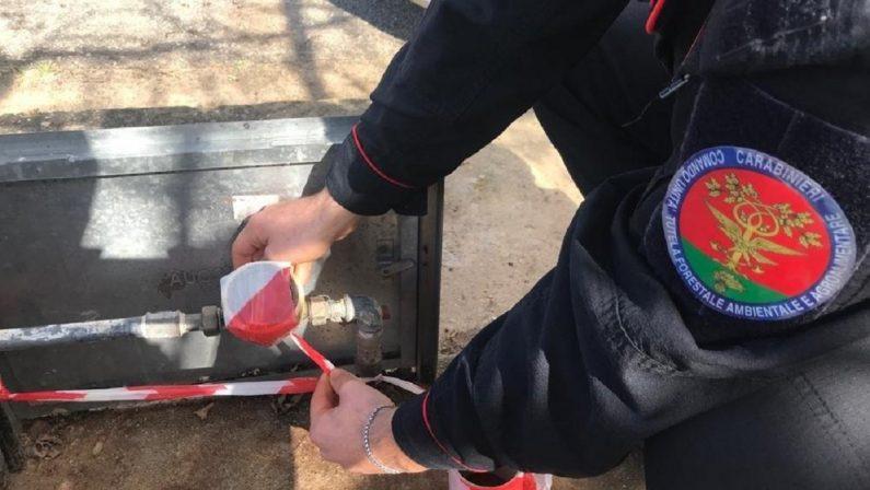 Allaccio abusivo alla rete idrica, denunciate due persone nel Cosentino