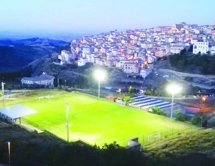 Lo stadio di Tricarico