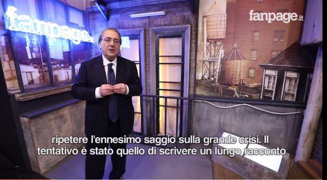 VIDEO - Il Cigno nero e il Cavaliere bianco, Roberto Napoletanoracconta la grande crisi e il ruolo di Draghi
