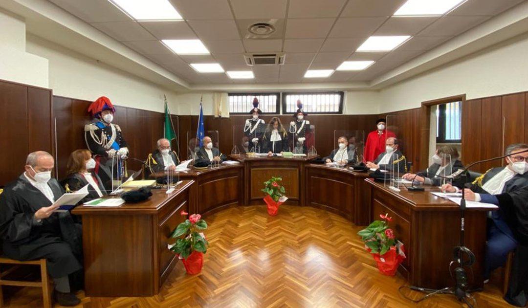 La cerimonia in Corte dei Conti
