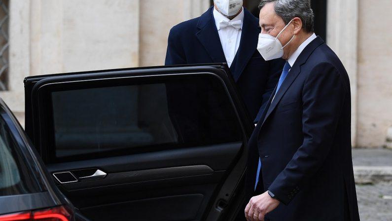 Draghi: «Abbiamo l'opportunità di fare molto per il nostro Paese». Via alle consultazioni