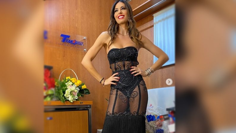 Compleanno con mise da urlo per la show girl calabrese Elisabetta Gregoraci