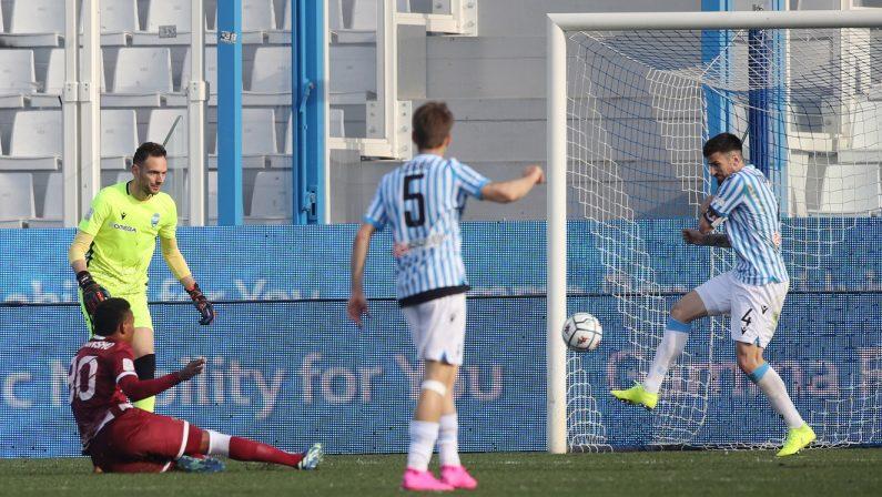 Serie B, la Reggina conquista i 3 punti nello scontro con la Spal