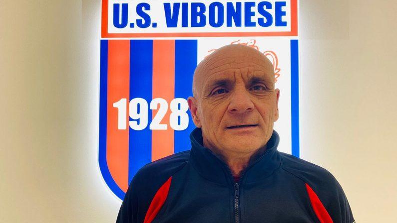 Serie C, ufficiale il cambio di panchina nella Vibonese, arriva Giorgio Roselli