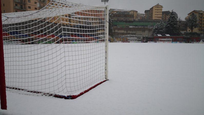 Serie C, rinviata per neve Potenza-Ternana