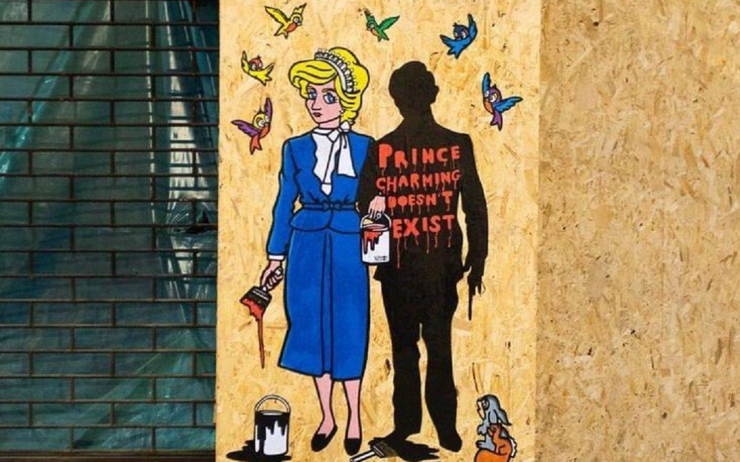 Lady Diana in chiave pop vista e disegnata da AlexSandro Palombo