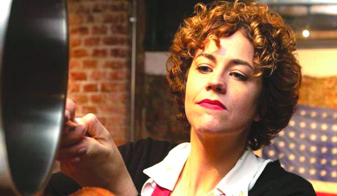 Laurel Evans sul web è famosa come l'americana in cucina