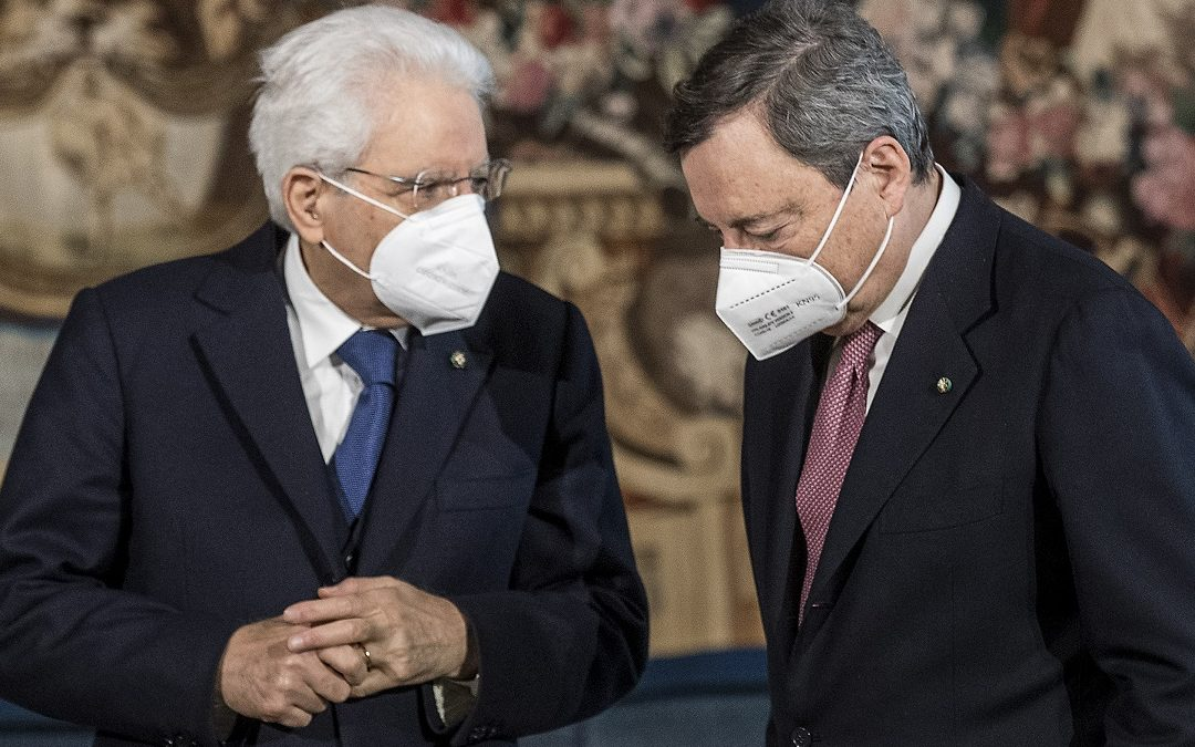Mario Draghi e Sergio Mattarella