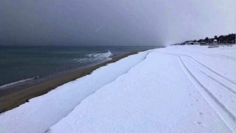 Maltempo: nevica in Calabria, temperatura a -13 sui rilievi della Sila
