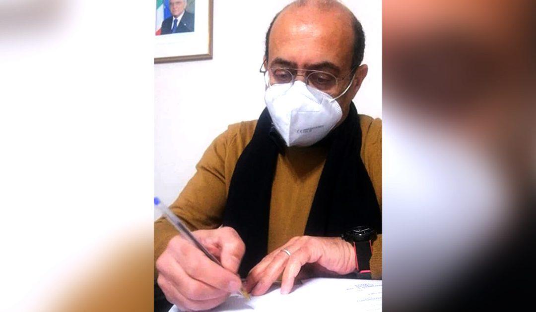 Il sindaco Salvatore Fortunato Giordano