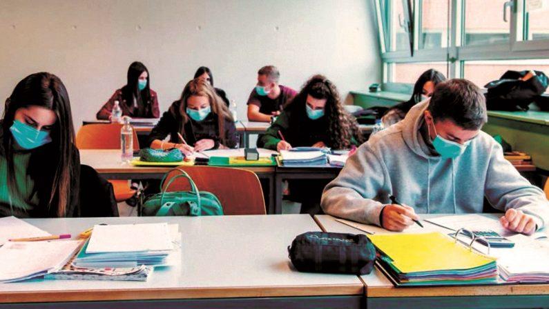 Scuola, in Irpinia sono in pochi a ritornare in classe