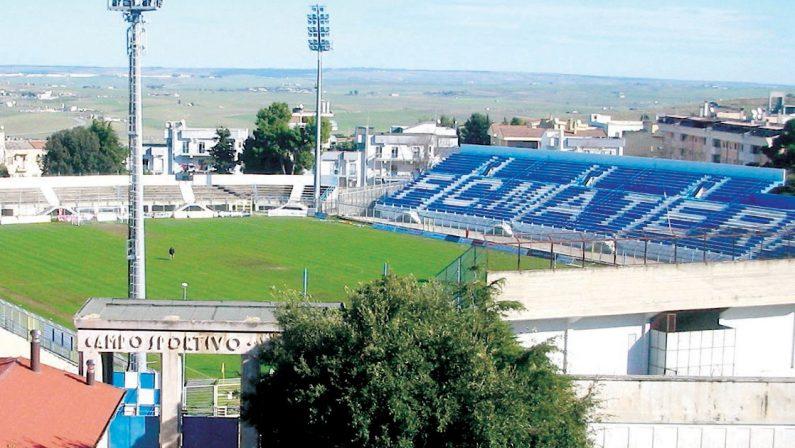 Matera, un parco al posto dello stadio, ma vanno trovati 11 milioni di euro
