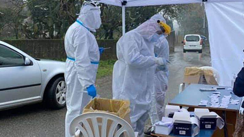 Coronavirus in Calabria: crescono i contagi a Gerocarne, attesa per l'esito di altri 65 tamponi