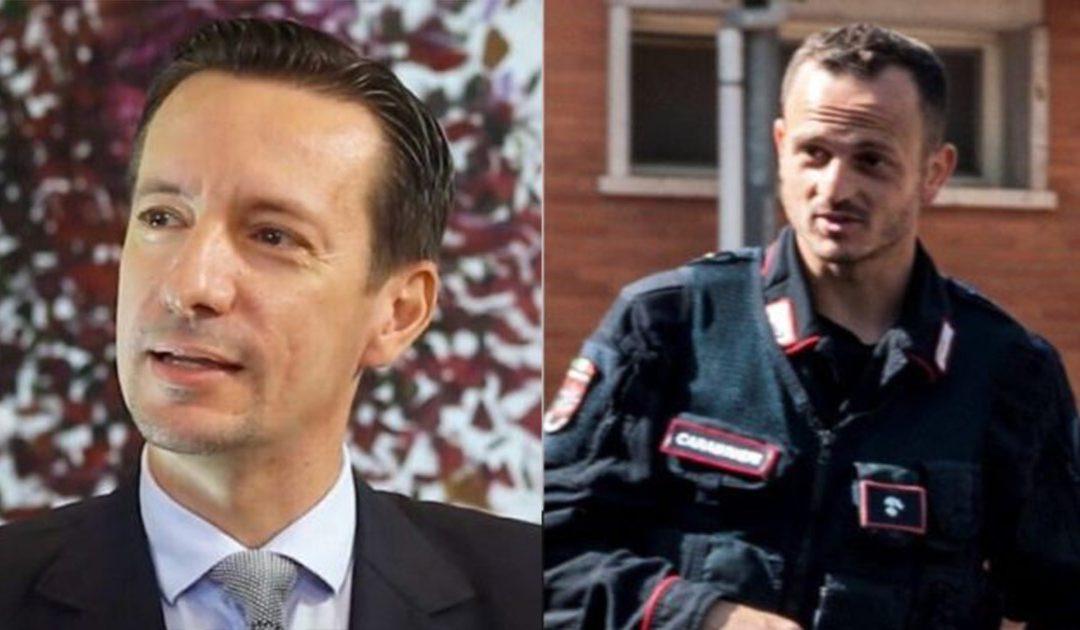 L'ambasciatore italiano Luca Attanasio e il carabiniere Vittorio Iacovacci