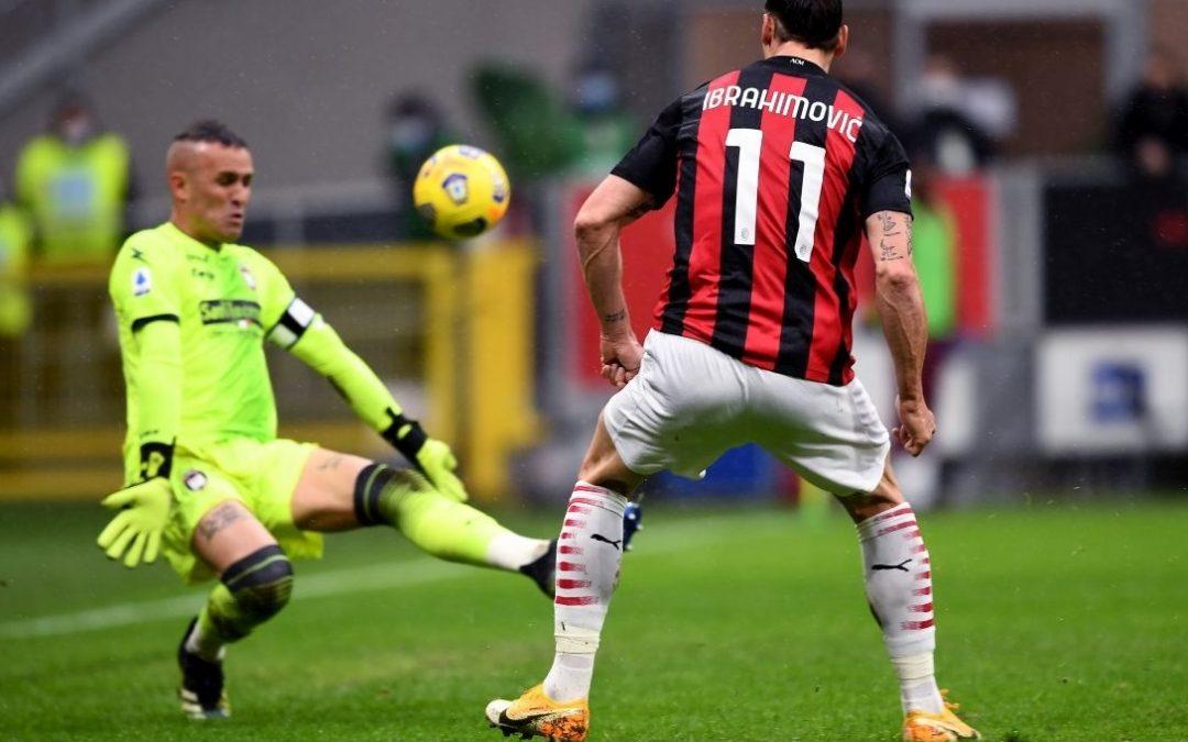 Ibrahimovic batte Cordaz