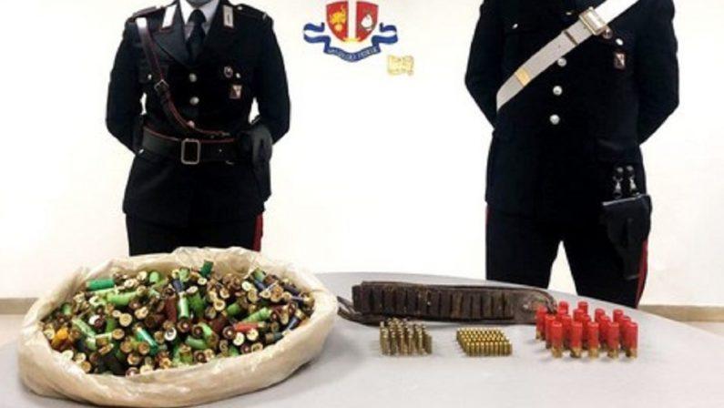 Scoperto un deposito clandestino con 650 munizioni per fucili e pistole nel Reggino