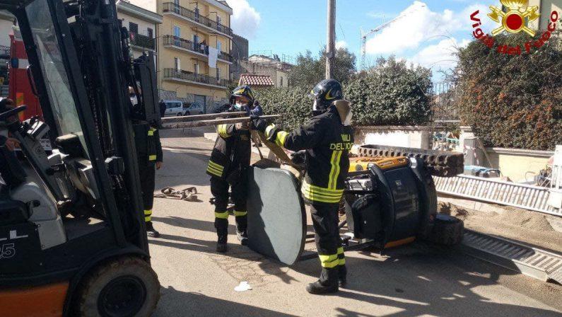 Incidente sul lavoro questa mattina a Palazzo San Gervasio