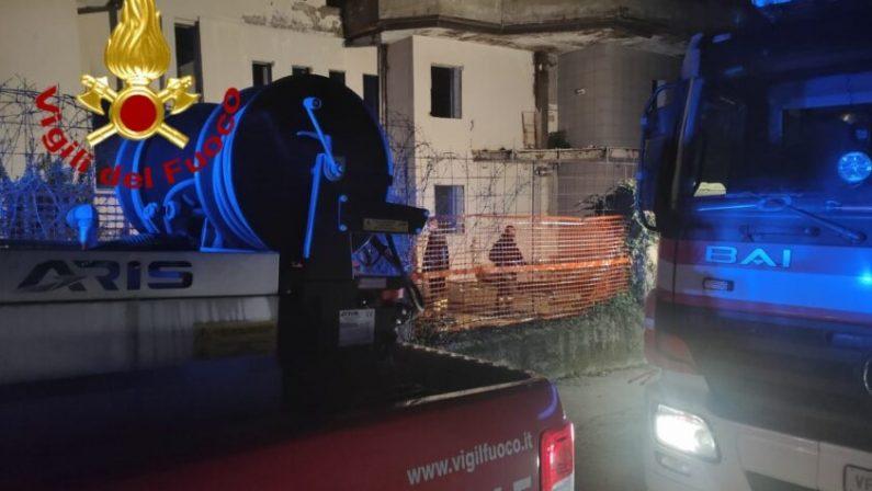 Senzatetto muore carbonizzato a Monteforte Irpino