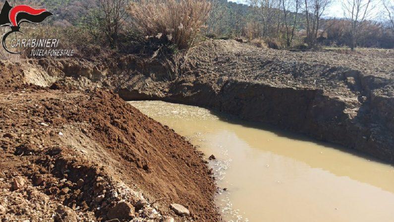 Tre persone denunciate nel Cosentino per smaltimento e gestione illecita di rifiuti