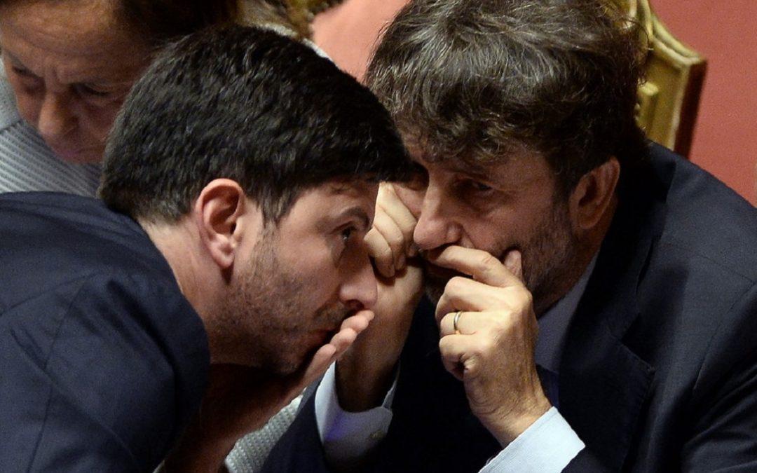 Roberto Speranza e Dario Franceschini
