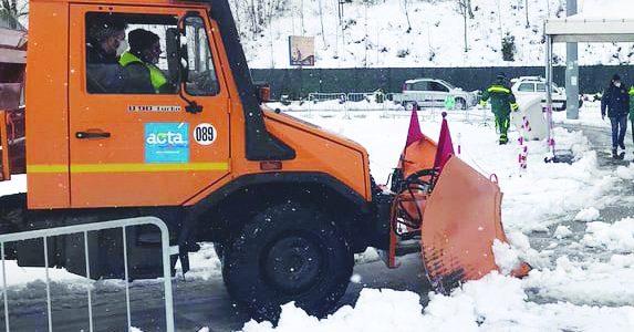 In Basilicata neve e temperature sotto zero