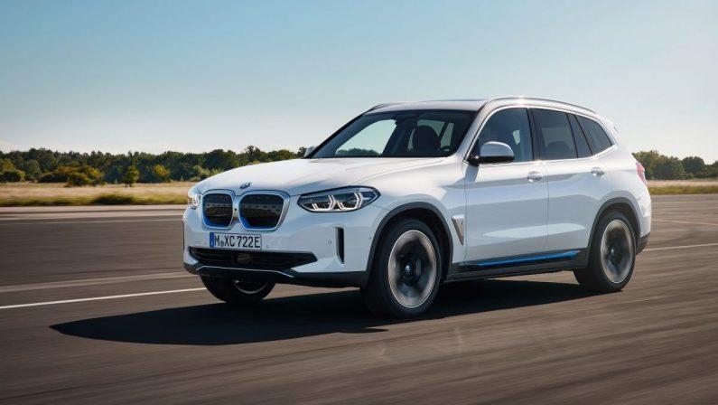 Ecco iX3, la prima BMW X full electric