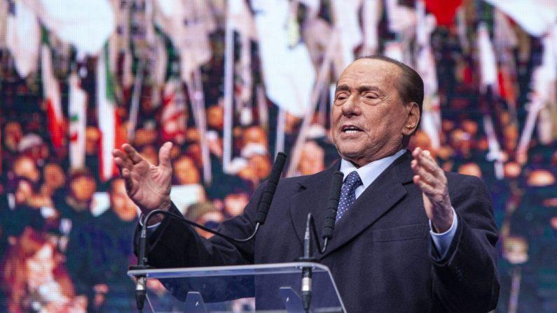 """Dl Sostegno, Berlusconi: """"Imboccata la strada giusta"""""""