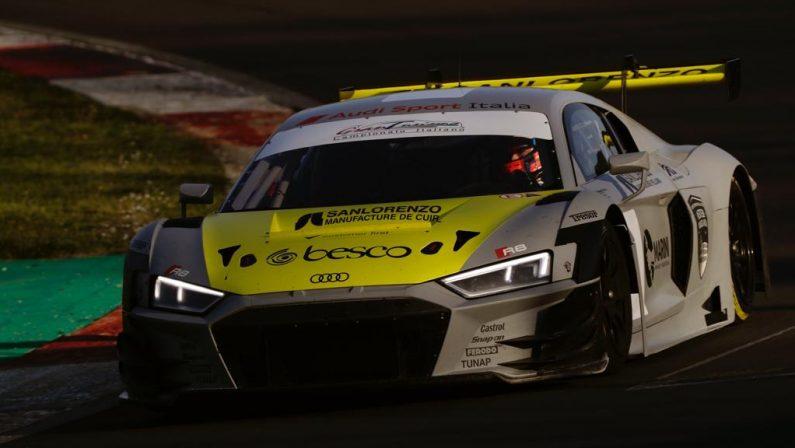 Automobilismo, il lucano Postiglione sarà pilota ufficiale del team Audi Sport Italia