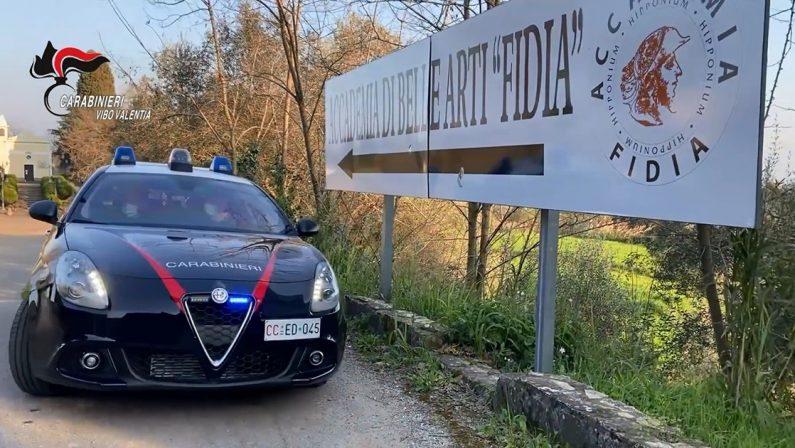 Operazione Diacono, nuove perquisizioni e sequestri dei Carabinieri in una scuola di Vibo