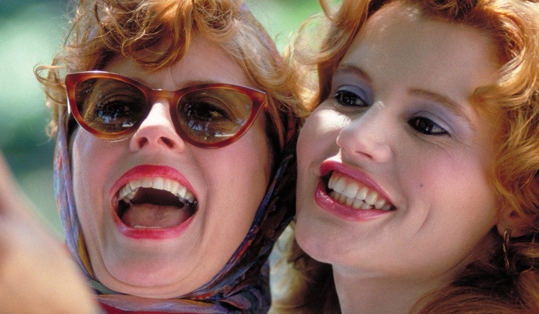 Geena Davis e Susan Sarandon in Thelma e Louise