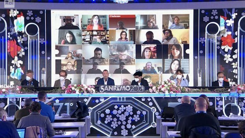 Sanremo 2021, ai nastri di partenza