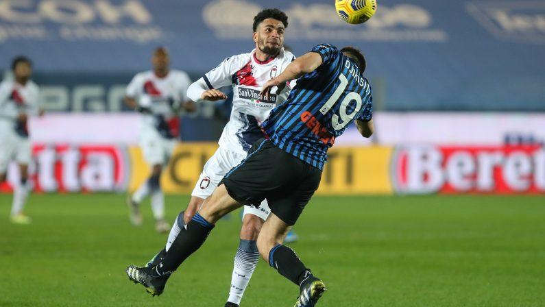 Serie A, che batosta a Bergamo per il Crotone