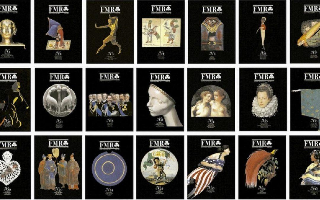Numeri di FMR: la rivista d'arte fondata da Franco Maria Ricci (foto tratta da www.artribune.com)