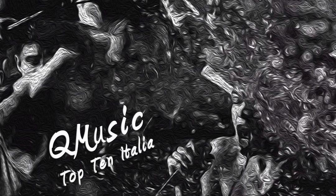 Una grafica di Mace, Blanco & Salmo tratta dal videoclip di La Canzone nostra