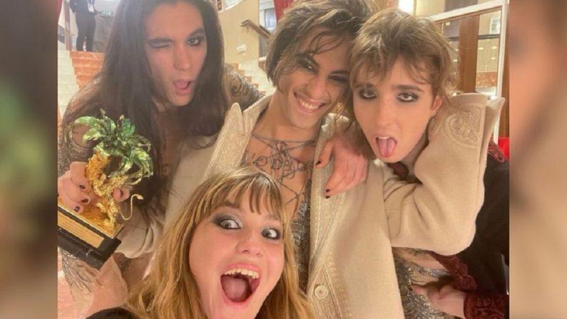 Sanremo 2021, vince il rock dei Maneskin