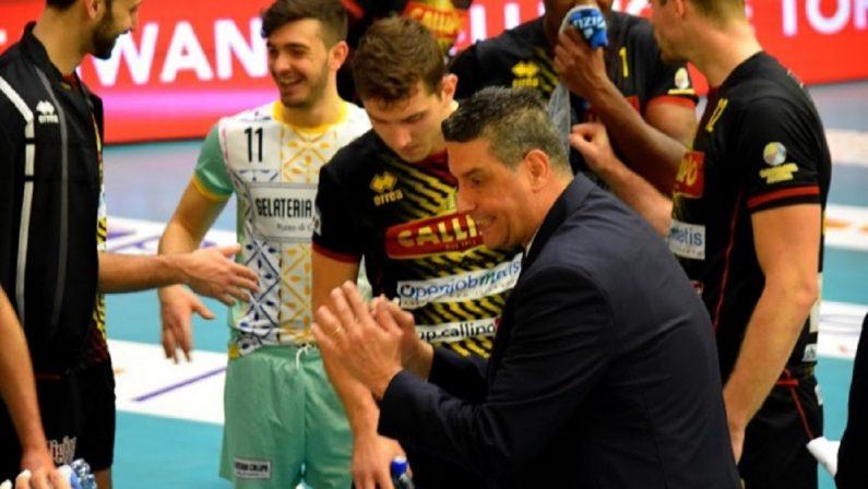 Volley, post season al via: la Tonno Callipo partirà dalla sfida col Cisterna il 28 marzo