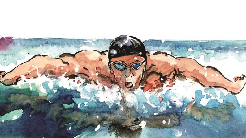 Michael Phelps, il proiettile in piscina che non falliva mai un colpo