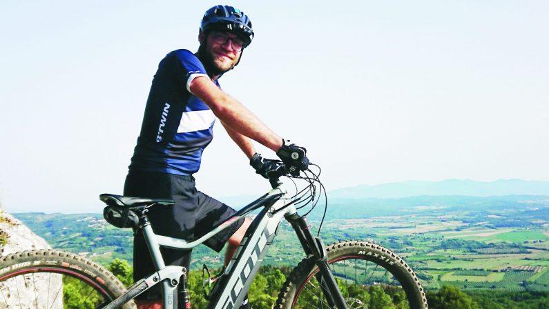 Cartografi in bici sui Sentieri Lucani