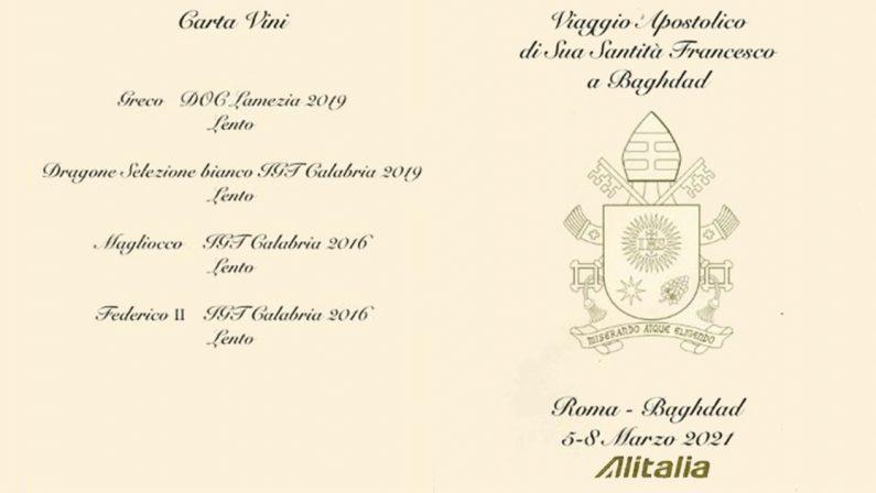 Il viaggio in Iraq di papa Francesco accompagnato dal vino calabrese