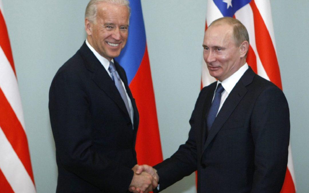 Joe Biden e Vladimir Putin